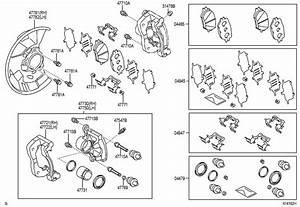 Toyota Tacoma Disc Brake Caliper