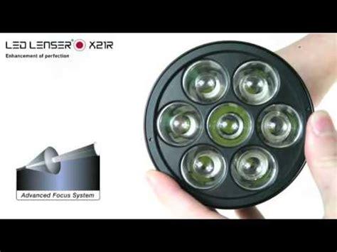 le torche ultra puissante x21r led lenser