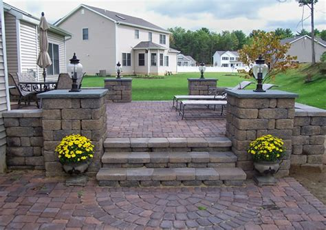 Concrete Paver Patio Design Ideas