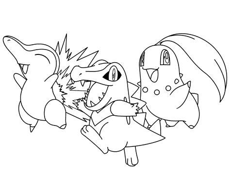 Pokemon Go #160 (jeux Vidéos)  Coloriages à Imprimer