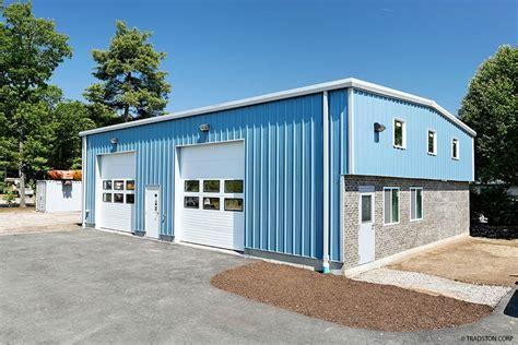 Metal Garage Buildings by Residential Metal Buildings Steel Workshop Buildings