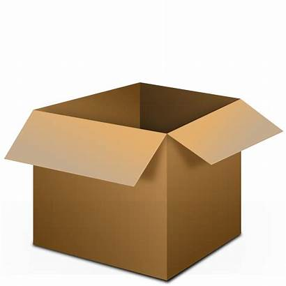 Clipart Box Shipping Transparent Cliparts Boxes Clip