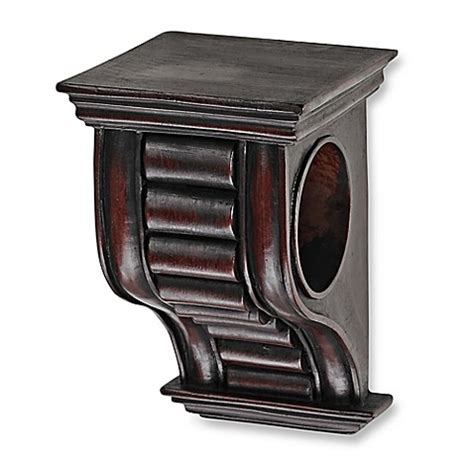 Curtain Sconce - buy cambria 174 premier wood drapery sconce in cherry from