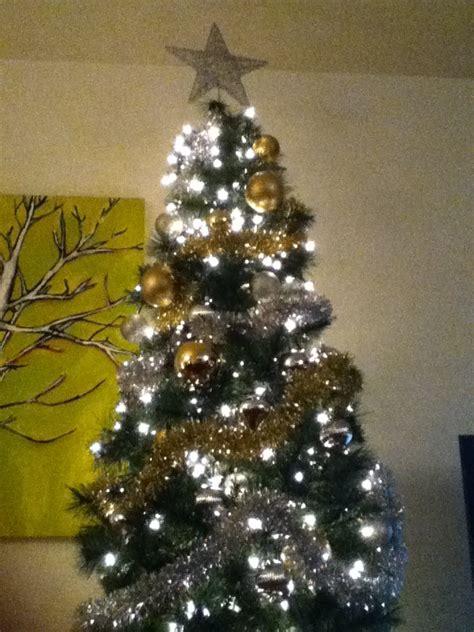 christmas tree lighting tip i used icicle lights this