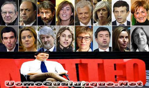 Consiglio Dei Ministri Renzi by L Anagramma Dei Ministri Governo Renzi
