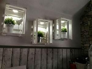 Kisten Als Regal : obstkisten als dekoration sehr h bsch deco pinterest kiste obstkisten und kisten ~ Markanthonyermac.com Haus und Dekorationen