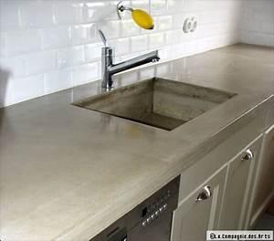 Plan De Travail En Résine : plan de travail de la cuisine quel mat riau choisir ~ Dailycaller-alerts.com Idées de Décoration