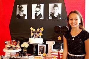 Kara's Party Ideas Hollywood Glam Birthday Party Kara's