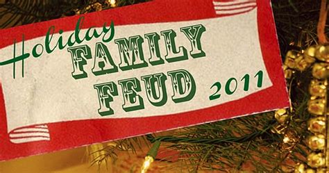 sweet dreams     holiday family feud game