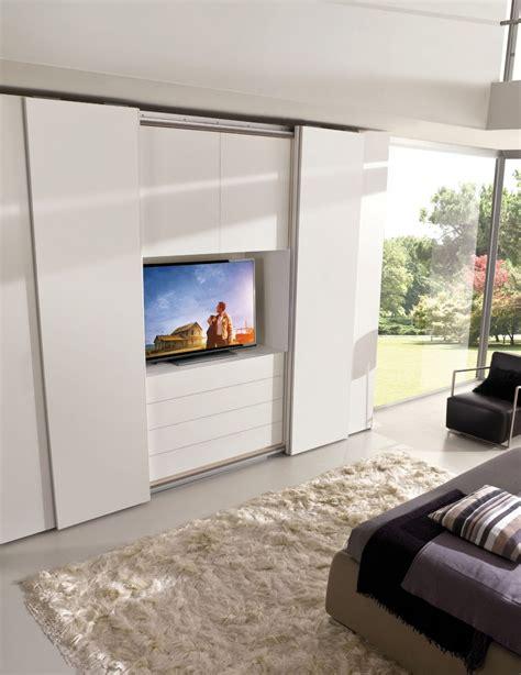 armadi con tv incorporata armadi e cabine armadio leonetti arredamenti
