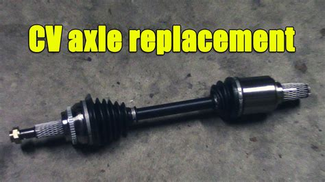 Cv Exles For Work by Cv Axle Replacement In Scion Tc