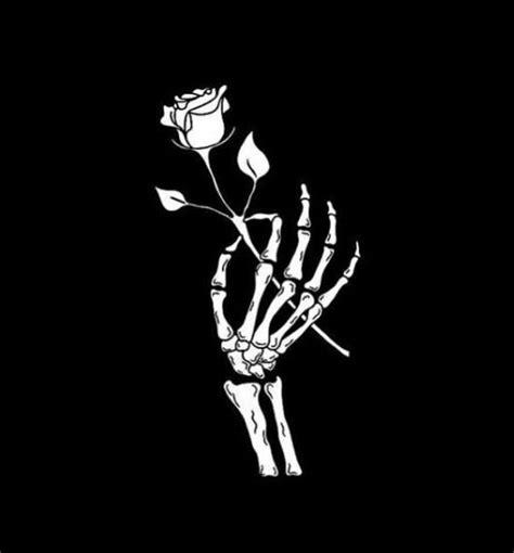 Rocknrox Skull Wallpaper Skeleton Art Black Aesthetic
