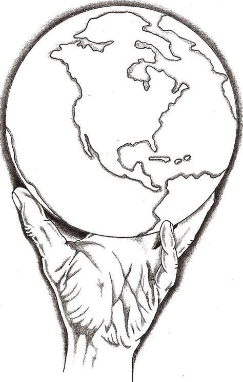 world   hand  thelob  deviantart