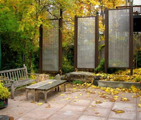 Japan Garten Sichtschutz by Mesh And Wire Privacy Screens Create Some Japanese Style