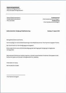 Vodafone Rechnung Ausdrucken : vodafone k ndigung vorlage k ndigung vorlage ~ Themetempest.com Abrechnung
