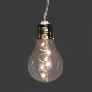 Guirlande Lumineuse Ampoule : guirlande lumineuse ampoule blanc chaud 24 led guirlande et d co lumineuse eminza ~ Teatrodelosmanantiales.com Idées de Décoration