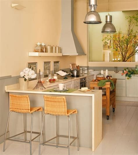 Design of kitchen area of 25 30 square meters   Decor