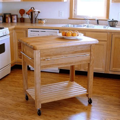 Movable Kitchen Island With Seating