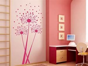 Wandgestaltung Für Jugendzimmer : wandtattoo luftiger l wenzahn als pusteblume ~ Markanthonyermac.com Haus und Dekorationen