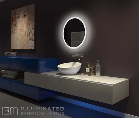 dimmable backlit mirror     ib mirror