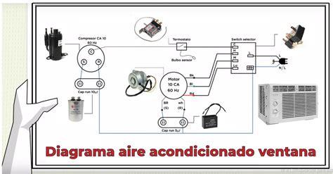 diagrama el 233 ctrico de aire acondicionado de ventana 220v 187 friolandia service