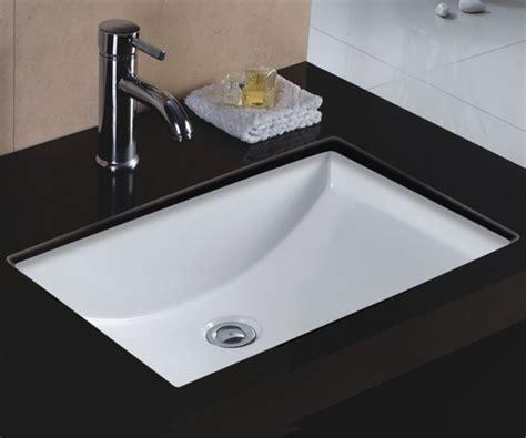 rectangle undermount kitchen sink sinkware rectangular vitreous ceramic lavatory 4540