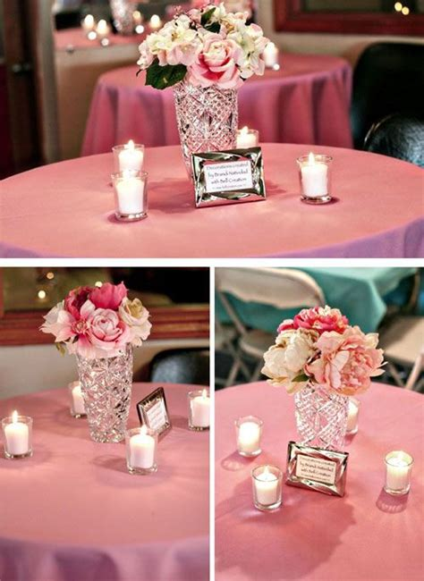 entry  diy flower centerpiece flower centerpieces