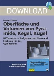 Pyramide Oberfläche Berechnen : oberfl che und volumen von pyramide kegel kugel ~ Themetempest.com Abrechnung