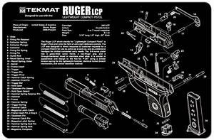 Ruger Lcp Handgun Tekmat Gun Cleaning Mat 11 U0026quot X17 U0026quot  W   Parts