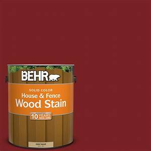 behr deckplus 1 gal st 112 barn red semi transparent With behr barn and fence paint colors