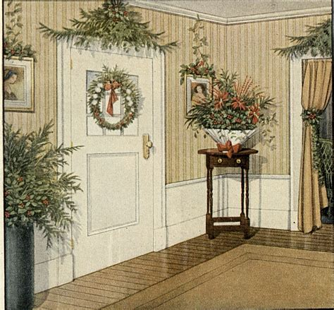 old fashioned christmas greenery decorating ideas a