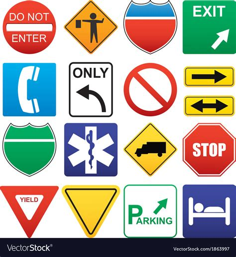 Jump to navigation jump to search. Road signs Royalty Free Vector Image - VectorStock