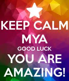 Good Luck You Are Amazing