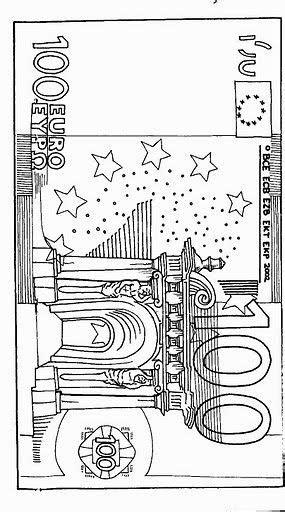 Kleurplaat Euromunten by Briefgeld Kleurplaat Matek