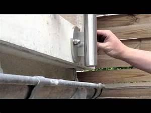 Fenêtre à L Anglaise : poser son garde corps l 39 anglaise youtube ~ Premium-room.com Idées de Décoration