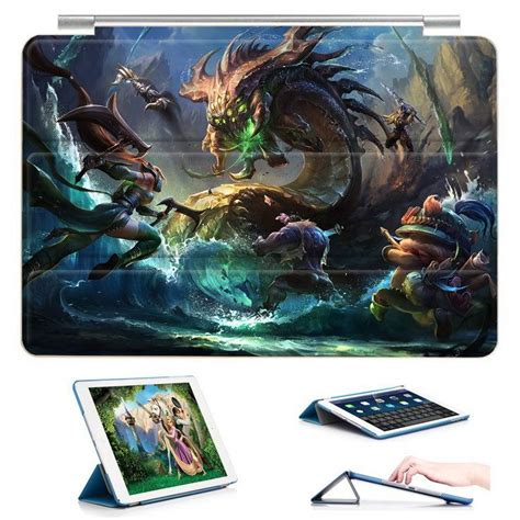 Case With League Of Legends Lol Game Heroes Illustration