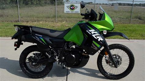 2013 Kawasaki Klr650 In Candy Lime Green