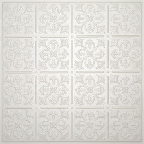 ceilume fleur de lis sand ceiling tile 2 feet x 2 feet