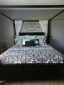 Master Bedroom Wall with Letters - BigDIYIdeas.com