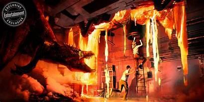 Jurassic Fallen Kingdom Concept Park Baryonyx Dinosaurs