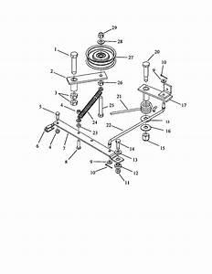 Swisher Model Polb10544hd Mower Deck Genuine Parts