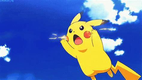 Pikachu Thunderbolt Gif  Pikachu Thunderbolt Electric