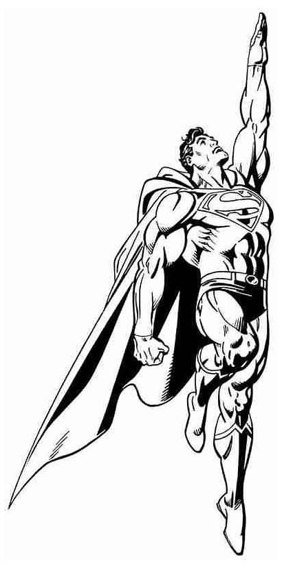 Super Superman Coloring Pages