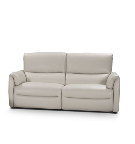 modern leather sectional sofa with recliners biaggio italian light gray leather reclining modern sofa