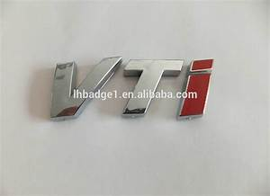 3d abs chrome letters car badgeabs numbers car sticker With custom plastic letters