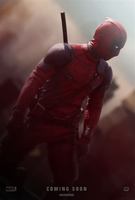 Deadpool (2016) Movie  Unofficial Teaser Poster By