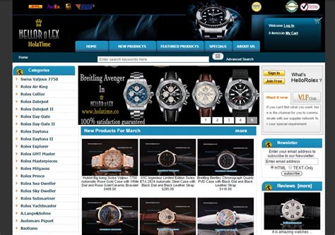 Top 5 Websites To Buy Replica Watches  Replica Watches