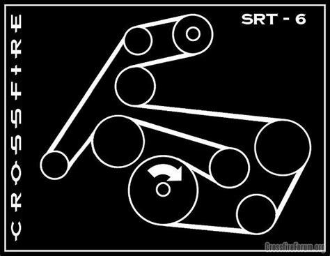 Srt6 Belt Diagram free serpentine belt diagram na limited base