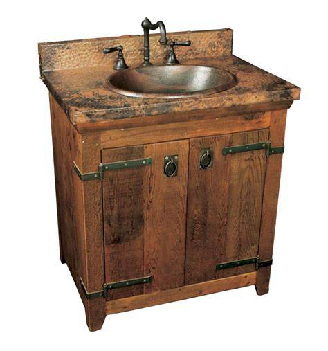 30 Bathroom Vanity With Top And Sink 30 Inch Single Sink Bath Vanity With Copper Top Uvntvnb30130