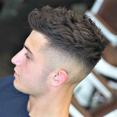 high skin fade undercut  quiff fade haircut styles